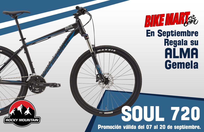 Bike Mart promo Soul 720